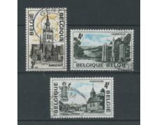 1974 - BELGIO - LOTTO/24474 - SERIE TURISTICA 3v. - USATI