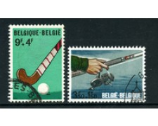 1970 - LOTTO/24504 - BELGIO - SPORT 2v. - USATI