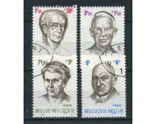1970 - LOTTO/24506 - BELGIO - PRO OPERE FILANTROPICHE  4v. - USATI