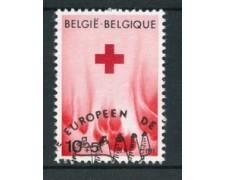 1971 - LOTTO/24512 - BELGIO - CROCE ROSSA 1v. - USATO