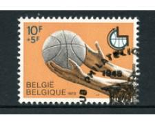 1973 - LOTTO/24517 - BELGIO - PALLACANESTRO PER DISABILI 1v. - USATO