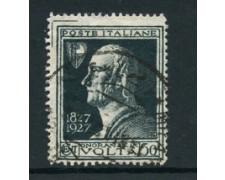 1927 - LOTTO/24528 - REGNO - 50c. A. VOLTA - USATO VARIETA\'