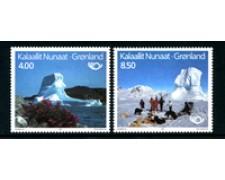 1991 - GROENLANDIA - LOTTO/24539 - NORDEN TURISMO 2v. - NUOVI
