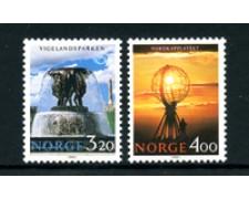 1991 - LOTTO/24540 - NORVEGIA - NORDEN TURISMO 2v. - NUOVI
