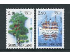 1991 - LOTTO/24541 - FINLANDIA - NORDEN  2v. - NUOVI