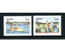 1991 - LOTTO/24543 - ALAND - NORDEN 2v. - NUOVI