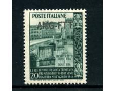 1949 - LOTTO/24561 - TRIESTE A - PONTE S. TRINITA' 1v. - NUOVO