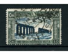 1930 - LOTTO/24662 - REGNO - 50+10 cent. MILIZIA 3° - USATO