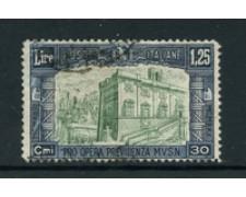 1930 - LOTTO/24653 - REGNO - 1,25+30 cent. MILIZIA 3° - USATO