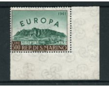 1961 - LOTTO/24565 - SAN MARINO - 500 LIRE EUROPA - NUOVO
