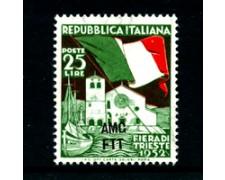 1952 - LOTTO/24570 - TRIESTE A - FIERA DI TRIESTE 1v. - NUOVO