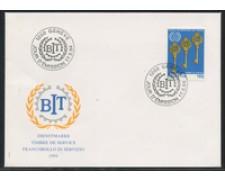 1994 - LOTTO/24587 - SVIZZERA - SERVIZIO -  B.I.T.  BUSTA FDC