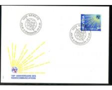 1994 - LOTTO/24588 - SVIZZERA -  CENTENARIO U.I.T. - BUSTA FDC