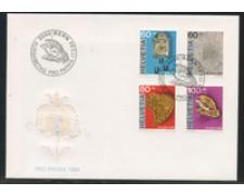 1994 - LOTTO/24590 - SVIZZERA - PROPATRIA ARTIGIANATO 4v. - BUSTA FDC
