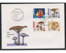 1994 - LOTTO/24594 - SVIZZERA - PRO JUVENTUTE 4v. - BUSTA FDC