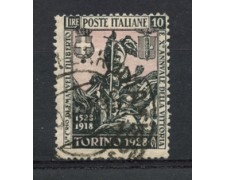 1928 - LOTTO/24622 - REGNO - 10 LIRE EMANUELE FILIBERTO - USATO
