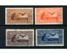 1930 - LOTTO/24647 - REGNO - POSTA AEREA  VIRGILIO 4v. - USATI