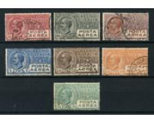 1926/28 - LOTTO/24649 - REGNO - POSTA AEREA  EFFIGIE V. EMANUELE III° 7v. - USATI