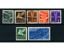 1930/1932 - LOTTO/24650 - REGNO - POSTA AEREA 7v. - USATI