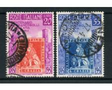 1951 - LOTTO/24658 - REPUBBLICA - FRANCOBOLLI DI TOSCANA 2v. - USATI