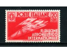 1935 - LOTTO/24666 - REGNO - 20 cent. SALONE AERONAUTICO - NUOVO