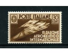 1935 - LOTTO/24667 - REGNO - 30 cent. SALONE AERONAUTICO - NUOVO