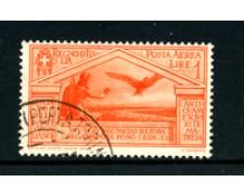 1930 - LOTTO/24669 - REGNO - 1 Lira  POSTA AEREA BIMILLENARIO VIRGILIO - USATO