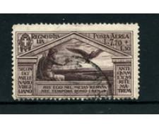 1930 - LOTTO/24670 - REGNO - 7,70+1,30 Lire POSTA AEREA BIMILLENARIO VIRGILIO - USATO