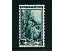 1955 - LOTTO/24682 - REPUBBLICA - 65 Lire ITALIA AL LAVORO FIL. STELLE - NUOVO