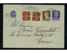 1945 - LUOGOTENENZA - LOTTO/24697 - BIGLIETTO POSTALE DA NISSORIA A COMO