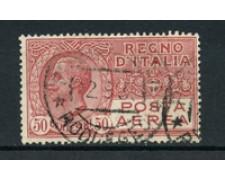 1926/1928 - LOTTO/24706 - ITALIA REGNO - P/A 20 cent. EFFIGIE DEL RE - USATO