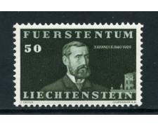 1940  LIECHTENSTEIN - 30r. CENTENARIO NASCITA PRINCIPE GIOVANNI - NUOVO - LOTTO/25013