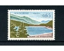 1961/1971  ANDORRA FRANCESE - 65 CENTESIMI VEDUTA - NUOVO - LOTTO/25030