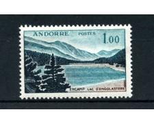1961/1971  ANDORRA FRANCESE - 1 FRANCO VEDUTE - NUOVO - LOTTO/25032