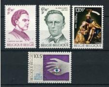 1975  BELGIO - SOLIDARIETA' 4v. - NUOVI - LOTTO/25047