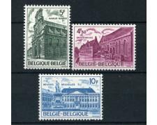 1975  BELGIO - PATRIMONIO ARCHITETTONICO 3v. - NUOVI - LOTTO/25048