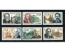 1966 - FRANCIA - PRO CROCE ROSSA 6v. NUOVI - LOTTO/25165