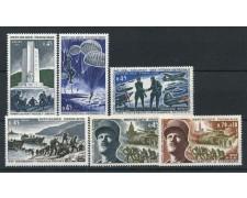 1969 - FRANCIA - ANNIVERSARIO DELLA LIBERAZIONE 4v.- NUOVI - LOTTO/25167