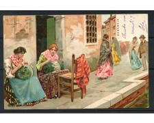 1900 - ITALIA - VENEZIA BURANELE - CARTOLINA A COLORI VIAGGIATA - LOTTO/25173