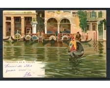 1900 - ITALIA - VENEZIA CARTOLINA A COLORI TRAGHETO DE S. FELICE - VIAGGIATA -  LOTTO/25174