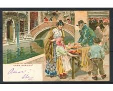 1900 - ITALIA - VENEZIA - CARTOLINA A COLORI  ZUCA BARUCA - VIAGGIATA - LOTTO/25175