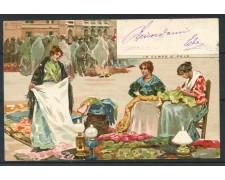 1900 - ITALIA - VENEZIA  CARTOLINA A COLORI IN CAMPO S. POLO - VIAGGIATA - LOTTO/25176