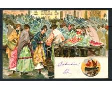 1900 - ITALIA - VENEZIA CARTOLINA A COLORI PESCARIA - VIAGGIATA - LOTTO/25177