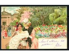 1900 - ITALIA - VENEZIA CARTOLINA A COLORI A L'ESPOSIZION - VIAGGIATA - LOTTO/25178