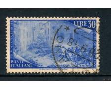 1948 - ITALIA REPUBBLICA - 30 LIRE CENTENARIO RISORGIMENTO - USATO - LOTTO/25239