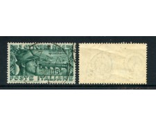1948 - ITALIA REPUBBLICA - PONTE DI BASSANO - FILIGRANA CS - USATO - LOTTO/25242