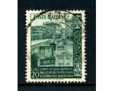 1949 - REPUBBLICA - PONTE SANTA TRINITA' - USATO - LOTTO/25257