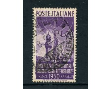 1950 - REPUBBLICA - 20 LIRE RADIODIFFUSIONE - USATO - LOTTO/25259C