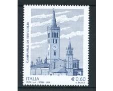 2008 - REPUBBLICA - MILLENARIO CAMPANILE DI TREVIGLIO - NUOVO - LOTTO/25428
