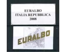 2008 - EUROALBO - FOGLI DI AGGIORNAMENTO ITALIA REPUBBLICA - LOTTO/25432